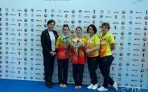 Thể dục dụng cụ Việt Nam giành 2 huy chương ở Cúp thế giới