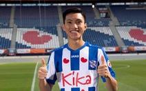 Pha cắt bóng đẳng cấp của Văn Hậu trong trận đá chính cho đội trẻ Heerenveen