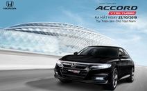 Honda Accord thế hệ thứ 10 ra mắt thị trường Việt Nam từ tháng 10-2019