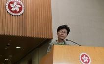 20.000 người Hong Kong đăng ký đối thoại với bà Carrie Lam