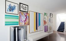 Biến những bức tường trắng tẻ nhạt thành thiết kế nghệ thuật đặc sắc