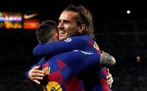 Griezmann ghi bàn, Messi chấn thương, Barca thắng chật vật Villarreal