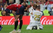 Thắng dễ Osasuna, Real chiếm ngôi đầu bảng