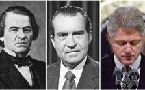 Những lần luận tội tổng thống 'thót tim' trong lịch sử Mỹ