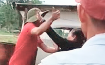 Video: Công an vào cuộc vụ nổ súng tranh chấp đất đai