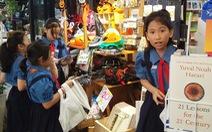 Nhiều trải nghiệm thú vị cho trẻ em tại Hội sách thiếu nhi ở Đường sách TP.HCM