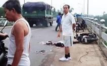Bắt tài xế xe tải tông chết người rồi bỏ chạy