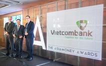 Vietcombank nhận 'hat -trick' giải thưởng của Asiamoney