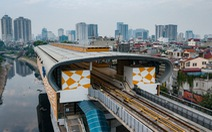 Đường sắt Cát Linh - Hà Đông: Còn 1% công việc, vẫn chưa biết ngày hoàn thành