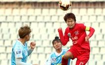 Nữ Hà Nội thắng Sơn La 6-0 trong trận đấu mất điện hơn 15 phút