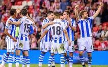 Đè bẹp Alaves 3-0, Real Sociedad đá văng Barca ra khỏi tốp 5