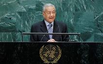 Ở Liên Hiệp Quốc, ông Mahathir cáo buộc Israel là 'nguồn cơn khủng bố'