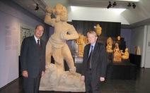 Trăm năm cổ viện Chàm - những chuyện chưa biết - Kỳ 4: Cổ vật đi 'ngoại giao'