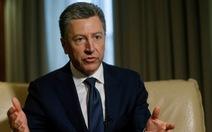 Giới chính trị Ukraine gọi việc đặc phái viên Mỹ từ chức là 'mất mát thật sự'