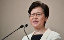 Lãnh đạo Hong Kong Carrie Lam: 'Tôi chưa bao giờ nộp đơn từ chức'