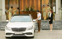 CocoLand River Beach Resort & Spa dùng xe sang  MayBach S450 đưa đón khách
