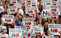 Mỹ bối rối trước quan hệ Nhật - Hàn