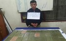 Bắt 2 nghi phạm mang 32 bánh heroin từ Lào vào Việt Nam