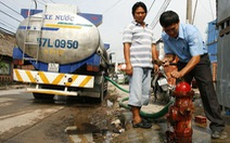 Giá nước tăng từ tháng tới