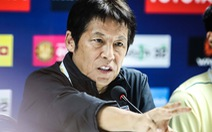 HLV Nishino: 'Các tiền vệ Thái sẽ chơi như tiền đạo'