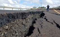 Đường nứt 'như động đất' ở Gia Lai có thể do không lường mạch nước ngầm