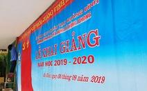 Hàng trăm trường tại Quảng Bình, Quảng Trị phải hoãn khai giảng vì lũ