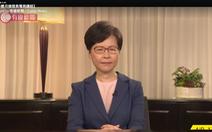 Bà Carrie Lam thông báo chính thức rút lại dự luật dẫn độ