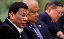 Ông Duterte không hài lòng khi ông Tập nói Biển Đông là 'tài sản' của Trung Quốc