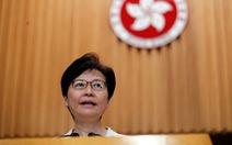Bà Carrie Lam nêu 4 giải pháp, trong đó chính thức rút dự luật dẫn độ