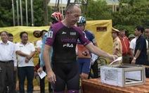 Hủy chặng 5 Cuộc đua xe đạp VTV Cúp vì mưa bão