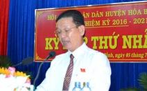 Chủ tịch HĐND bị cảnh cáo về mặt Đảng được bổ nhiệm làm trưởng ban tuyên giáo