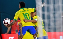 Neymar ghi bàn, Brazil hòa Colombia 2-2