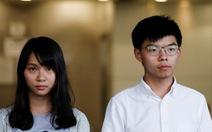 Hoàng Chi Phong bị bắt lại sau chuyến đi Đài Loan