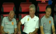 HLV Park khiêm tốn, HLV Hiddink thẫn thờ khi U22 Trung Quốc thua Việt Nam