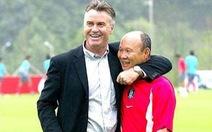 HLV Guus Hiddink: 'Tôi tự hào về Park Hang Seo và muốn gây rắc rối cho anh ấy'