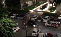 Ôtô húc ngã 2 người ở chung cư chỉ vì mâu thuẫn chỗ đậu xe