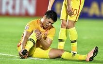 U23 Trung Quốc nhận 'hung tin' khi Zhang Yuning rời giải vì chấn thương