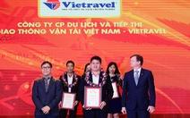 Vietravel liên tiếp dẫn đầu Top 10 công ty uy tín ngành du lịch - lữ hành 2017 - 2019