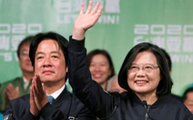 Bà Thái Anh Văn tuyên bố chiến thắng, tiếp tục lãnh đạo Đài Loan thêm 4 năm