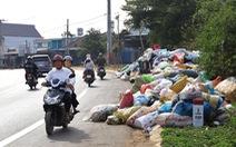 Rác tràn ngập trung tâm thành phố Bảo Lộc
