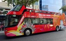 Từ 15-1, TP.HCM sẽ có xe du lịch hai tầng mui trần chở khách du lịch