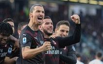 Ibrahimovic 'khai hỏa', AC Milan tìm lại niềm vui chiến thắng