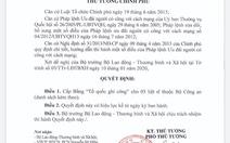 Cấp bằng Tổ quốc ghi công cho ba liệt sĩ công an hi sinh ở Đồng Tâm