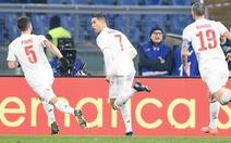 Ronaldo lập công, Juventus hạ AS Roma trở lại đỉnh bảng
