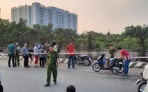 Dập lửa ở khu đất ven đường quận Bình Tân, phát hiện thi thể nam giới
