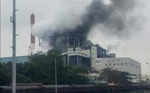 Khói đen nghi ngút sau tiếng nổ lớn tại Nhà máy nhiệt điện Uông Bí