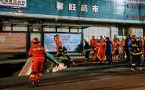 Xe buýt sụp hố tử thần: 6 người chết, 1.000 nhân viên cứu hộ tới hiện trường