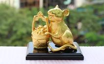Tượng Chuột mạ vàng đón Tết Canh Tý và những ý nghĩa bất ngờ