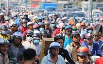 Ken đặc người xe đường Sài Gòn những ngày giáp tết