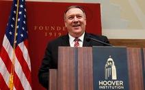 Ngoại trưởng Pompeo: Mỹ có chiến lược lớn hơn đằng sau việc giết tướng Soleimani